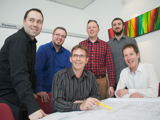 The friendly staff at Wright and Gray Architects